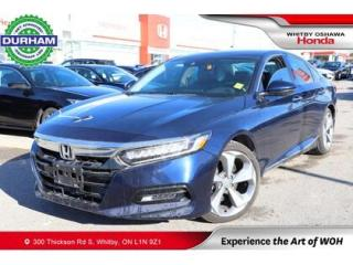 Used 2019 Honda Accord TOURING w/Leather Seats, Heated steering wheel for sale in Whitby, ON