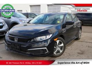 Used 2020 Honda Civic LX   CVT for sale in Whitby, ON