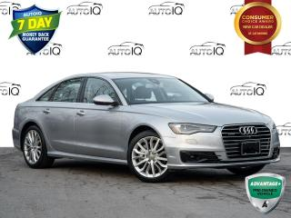 Used 2016 Audi A6 2.0T Technik NAVIGATION SYSTEM | SUNROOF | CLEAN CARFAX for sale in St Catharines, ON