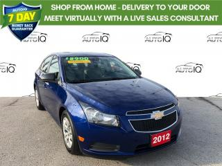 Used 2012 Chevrolet Cruze LS ONE OWNER/ CERTIFIED for sale in Grimsby, ON