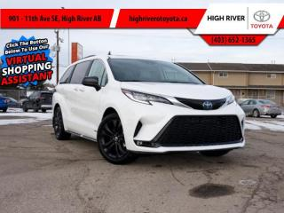 New 2021 Toyota Sienna Technology Package for sale in High River, AB
