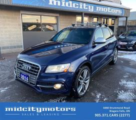 Used 2014 Audi SQ5 quattro Prestige AWD | Supercharged | 1-OWNER for sale in Niagara Falls, ON