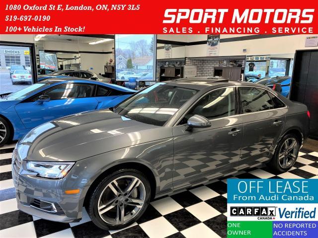 2017 Audi A4 Technik Quattro+Adaptive Cruise+ACCIDENT FREE