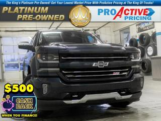 Used 2018 Chevrolet Silverado 1500 2LZ for sale in Kindersley, SK
