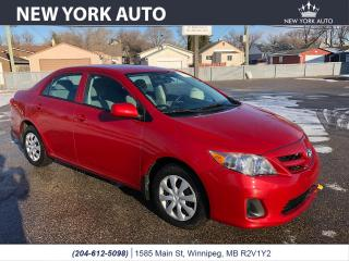 Used 2012 Toyota Corolla LE for sale in Winnipeg, MB