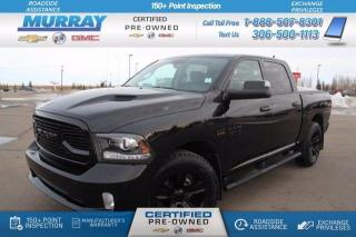 Used 2018 RAM 1500 SPORT for sale in Moose Jaw, SK
