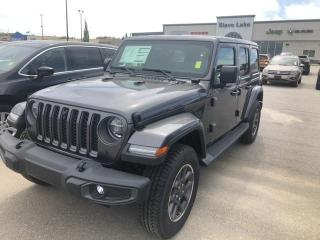 New 2021 Jeep Wrangler Unlimited Sahara 80th Anniversary Edition for sale in Slave Lake, AB