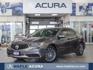 Used 2018 Acura TLX Tech, Acura Certified 7/160km Warranty for sale in Maple, ON
