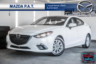 Used 2016 Mazda MAZDA3 AUTO,CAMÉRA DE RECUL,BLUETOOTH,SIEGES CHAUFFANTS for sale in Montréal, QC
