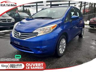 Used 2016 Nissan Versa Note *SV*CAMÉRA*A/C*BLUETOOTH* for sale in Québec, QC