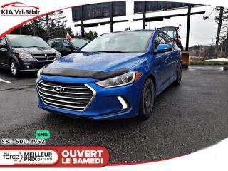 Used 2018 Hyundai Elantra *GL*CAMÉRA DE RECUL*BLUETOOTH*AIR*CRUISE for sale in Québec, QC
