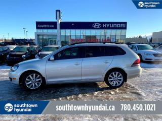 Used 2012 Volkswagen Golf Wagon HIGHLINE/TDI/WAGON/AUTO/LEATHER/ROOF for sale in Edmonton, AB