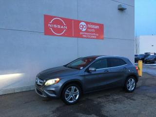 Used 2015 Mercedes-Benz GLA 4 MATIC/BLIND SPOT/TOW HITCH/WINTER TIRES for sale in Edmonton, AB