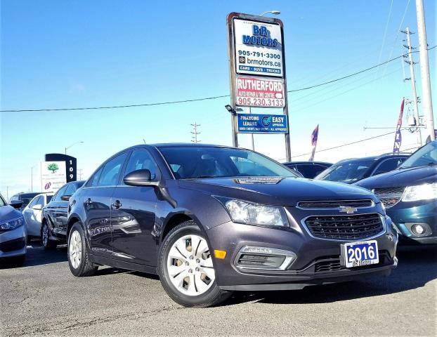2016 Chevrolet Cruze NO accidents|R Cam| Automatic| Sunroof| Certified
