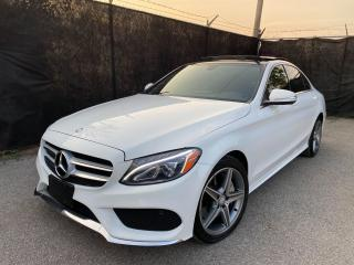 Used 2016 Mercedes-Benz C-Class C300-4MATIC-AMG-SPORT-NAVI-CAMERA-PANO ROOF for sale in Toronto, ON