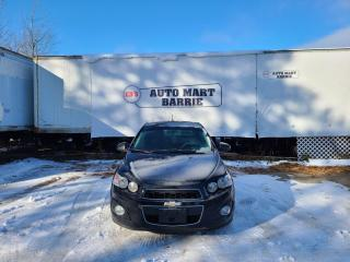 Used 2015 Chevrolet Sonic LT for sale in Barrie, ON