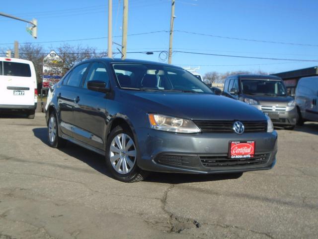 2013 Volkswagen Jetta 4dr 2.0L Auto Trendline LOW KM SAFETY NO ACCIENT