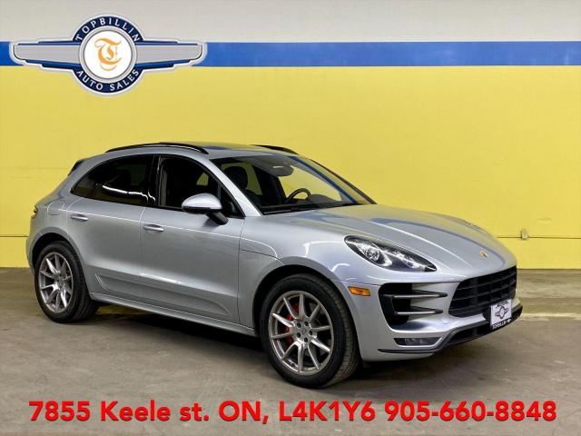2015 Porsche Macan Turbo AWD, Navi, Pano Roof, Fully Loaded