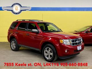 Used 2011 Ford Escape AWD V6, Leather, Sunroof, Heated Seats for sale in Vaughan, ON