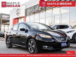 Used 2018 Nissan Leaf SL EV Electric 242 KM Range Navi Leather for sale in Maple, ON