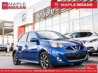 Used 2017 Nissan Micra SR Backup Camedra A/C Bluetooth Alloys Sport Trim for sale in Maple, ON