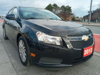 Used 2012 Chevrolet Cruze Eco w/1SA-EXTRA CLEAN-5 SPD-153K-BLUETOOTH-ALLOYS for sale in Scarborough, ON