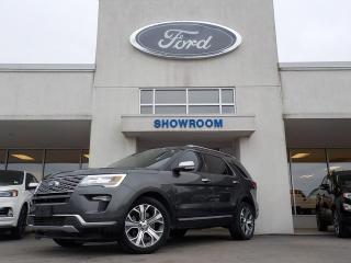 Used 2019 Ford Explorer Platinum for sale in Mount Brydges, ON
