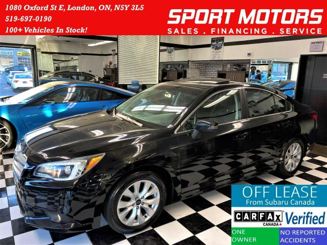 2016 Subaru Legacy 2.5i w/Touring AWD+Roof+Blind Spot+Accident Free