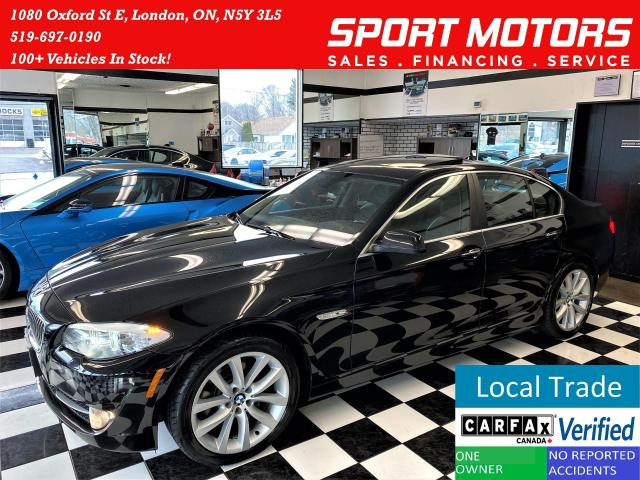 2013 BMW 5 Series 535i xDrive+New Tires+Xenons+Roof+ACCIDENT FREE
