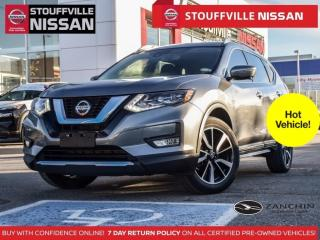 Used 2018 Nissan Rogue SL AWD  Clean Carfax  Leather  Pano Roof  360 CAM for sale in Stouffville, ON