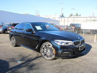 Used 2019 BMW 530i Xdrive M Sport Pacakage HUD Harman Kardon for sale in Surrey, BC