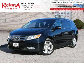 Used 2011 Honda Odyssey Touring w/Navi_Blind Spot Mirrors_DVD_Sunroof for sale in Oakville, ON