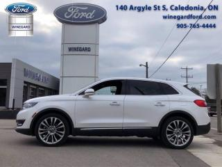 Used 2017 Lincoln MKX Reserve for sale in Caledonia, ON