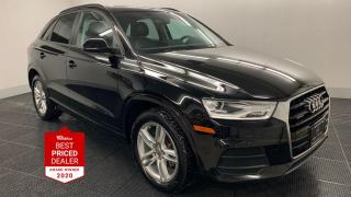 Used 2017 Audi Q3 QUATTRO AWD *PANORAMIC ROOF - HEATED LEATHER** for sale in Winnipeg, MB
