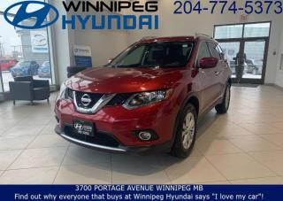 Used 2016 Nissan Rogue SV for sale in Winnipeg, MB