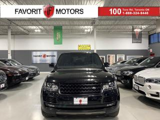 Used 2017 Land Rover Range Rover SUPERCHARGED V8 510HP HEADSUP NAV MERIDIAN AMBIENT for sale in North York, ON
