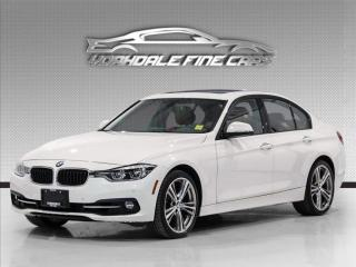 Used 2017 BMW 3 Series 330i xDrive Sport, Red Interior, Navi, Camera for sale in Concord, ON
