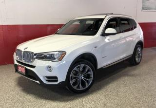 Used 2015 BMW X3 xDrive28i NAVI HUD PANO-ROOF COMFORT ACCES PUSH START for sale in North York, ON