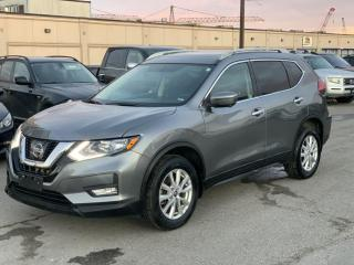 Used 2017 Nissan Rogue Rogue SV AWD MOONROOF PKG/ BACK UP CAMERA/ HEATED 51KM for sale in Brampton, ON