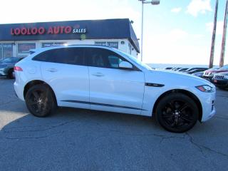 Used 2017 Jaguar F-PACE 20d R-Sport AWD Diesel Navigation Camera Certified for sale in Milton, ON