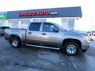 Used 2012 GMC Sierra 1500 SL Crew Cab 4.8L V8 Automatic No Accident Certified for sale in Milton, ON