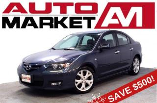 Used 2008 Mazda MAZDA3 GT Certified! Heated Seats! We Approve All Credit! for sale in Guelph, ON