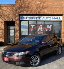 Used 2011 Kia Forte EX Heated Seats Bluetooth Air Conditioning Clean Carfax No Accident for sale in North York, ON
