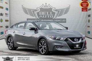 Used 2016 Nissan Maxima Platinum, NO ACCIDENTS, 360 CAM, NAVI, PANO, LEATHER, SENSORS. for sale in Toronto, ON