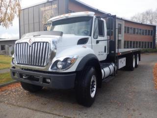 Used 2017 International 7400 24 Feet Tilt Deck with Air Brakes Diesel for sale in Burnaby, BC