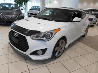 Used 2013 Hyundai Veloster TECH ** AUTOMATIQUE,GPS,CUIR,TOIT ** for sale in Montréal, QC