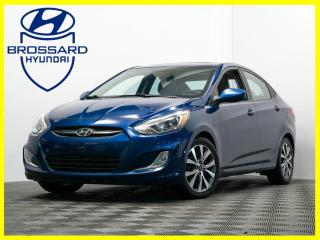 Used 2017 Hyundai Accent SE AUTO TOIT OUVRANT MAGS BLUETOOTH CRUISE for sale in Brossard, QC