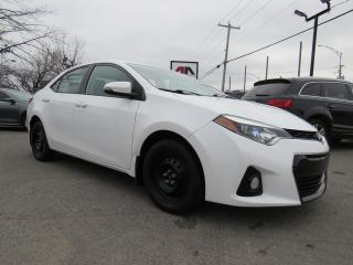 Used 2016 Toyota Corolla S CUIR TOIT OUVRANT CAMERA AUTO A/C 46,000KM for sale in St-Eustache, QC