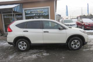 Used 2016 Honda CR-V 2 RM 5 portes LX for sale in Prevost, QC