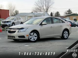 Used 2014 Chevrolet Cruze 1LT + BLUETOOTH + BAS KILO + A/C! for sale in Magog, QC